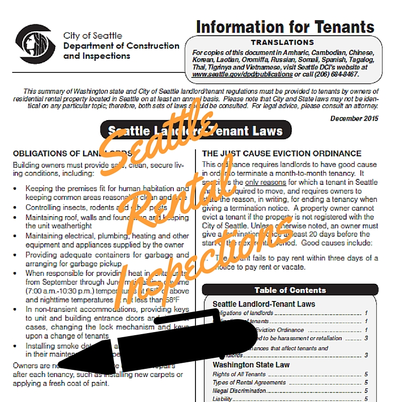 Seattle's Landlord Tenant Laws
