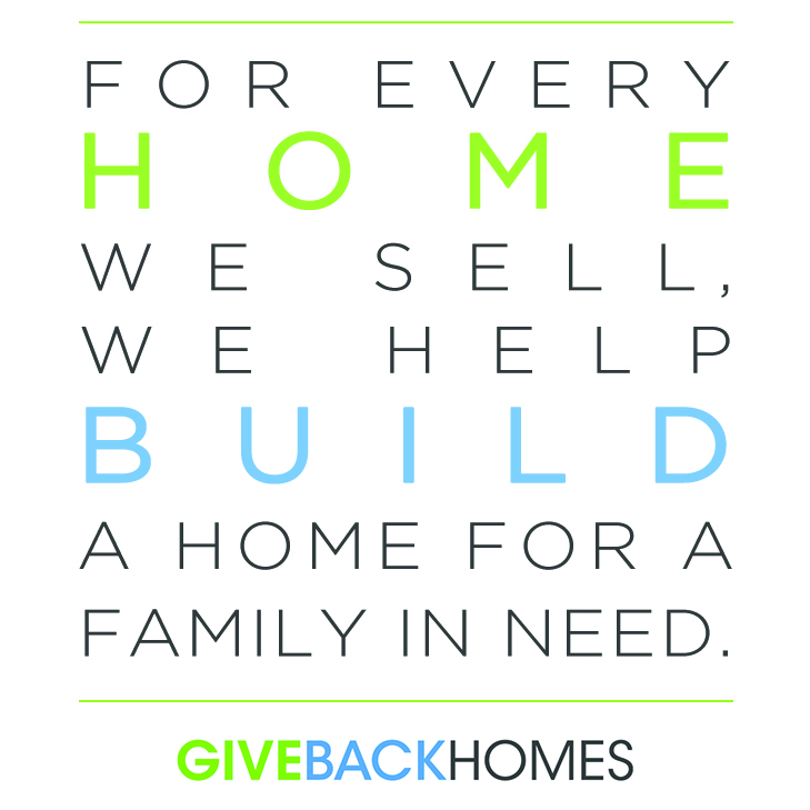 Give Back Homes, Homeowners helping other homeowners they may never meet