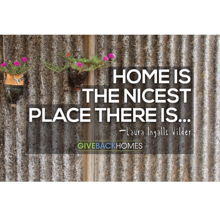 Sell a home, build a home. Give Back Homes. Kim Mulligan, Member