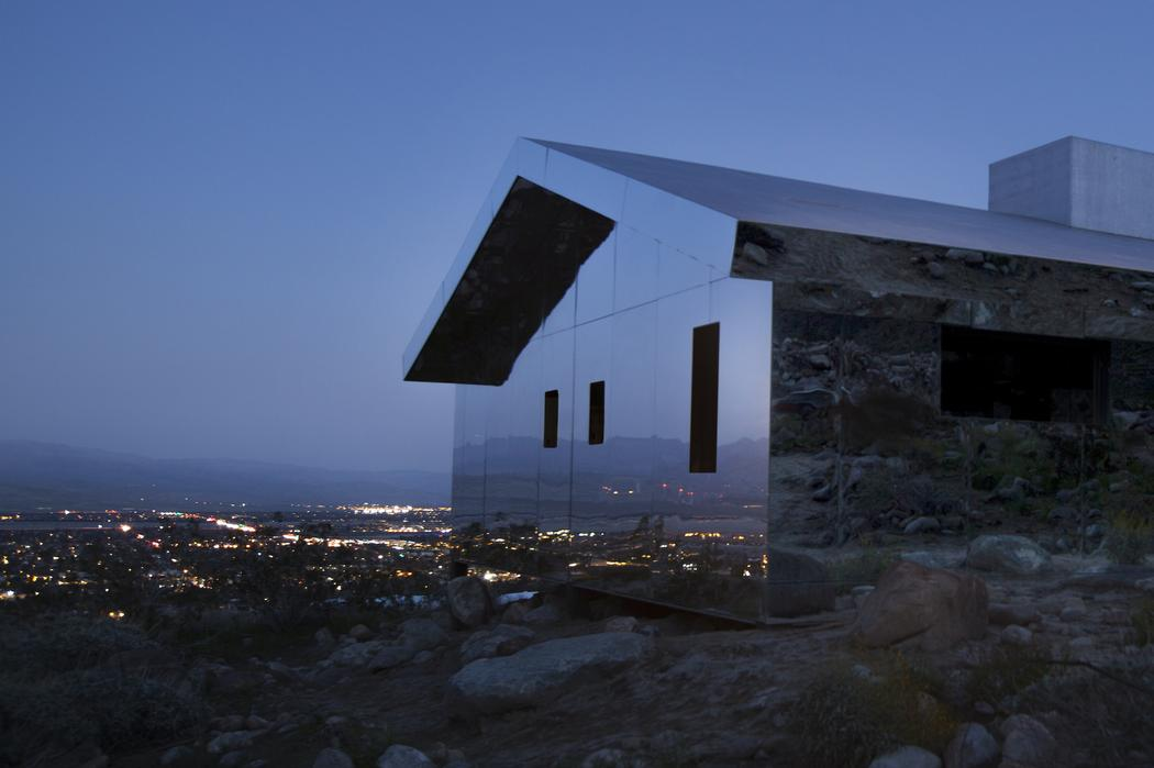 Completely Awesome Houses- A mirrored House