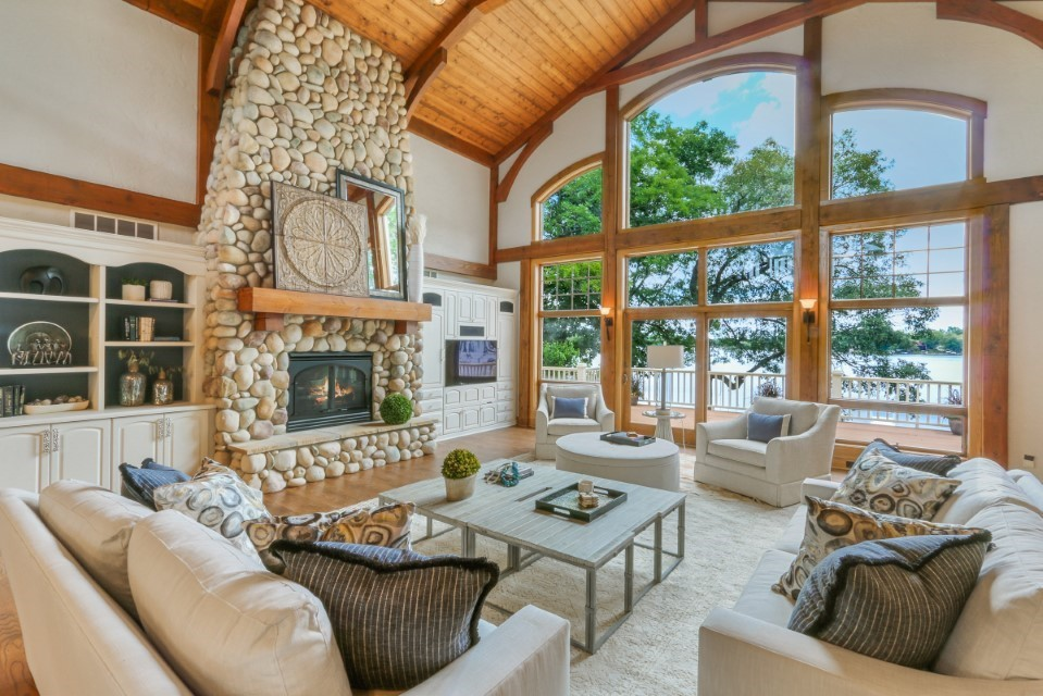 Just Listed! Spectacular Lake Retreat on Lauderdale Lakes | W5328 Plantation Rd, Elkhorn WI