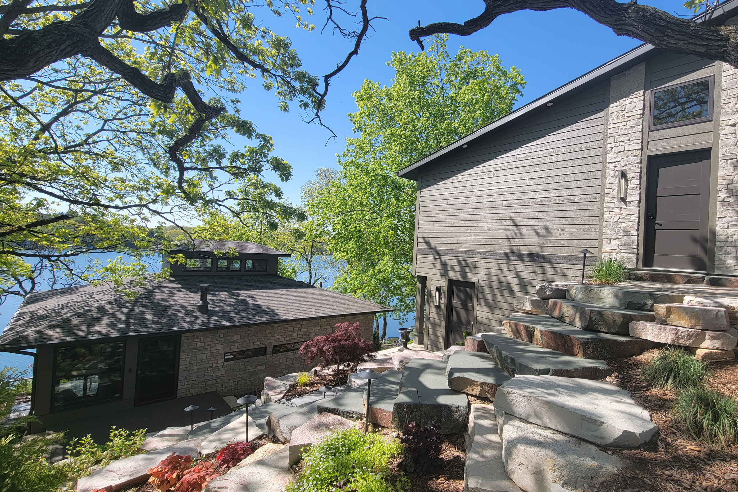 SOLD! 3BR, 2.5BA Whitewater Lakefront Home w Panoramic Views | N7580 Ridge Rd, Whitewater WI