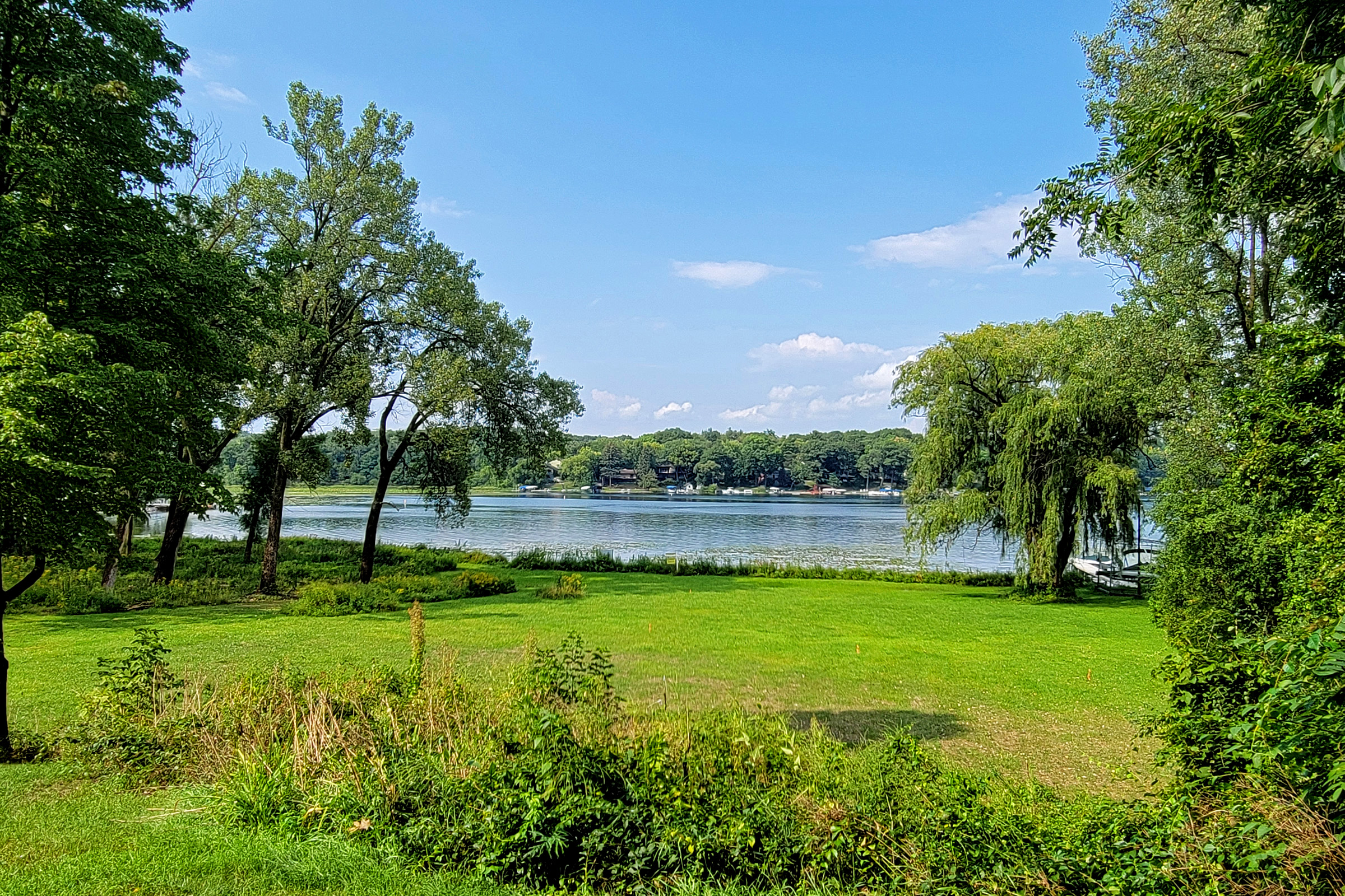 SOLD! 24.9 Acres with Over 600′ Lake Beulah Frontage | N8684 Stringers Bridge Rd | East Troy WI