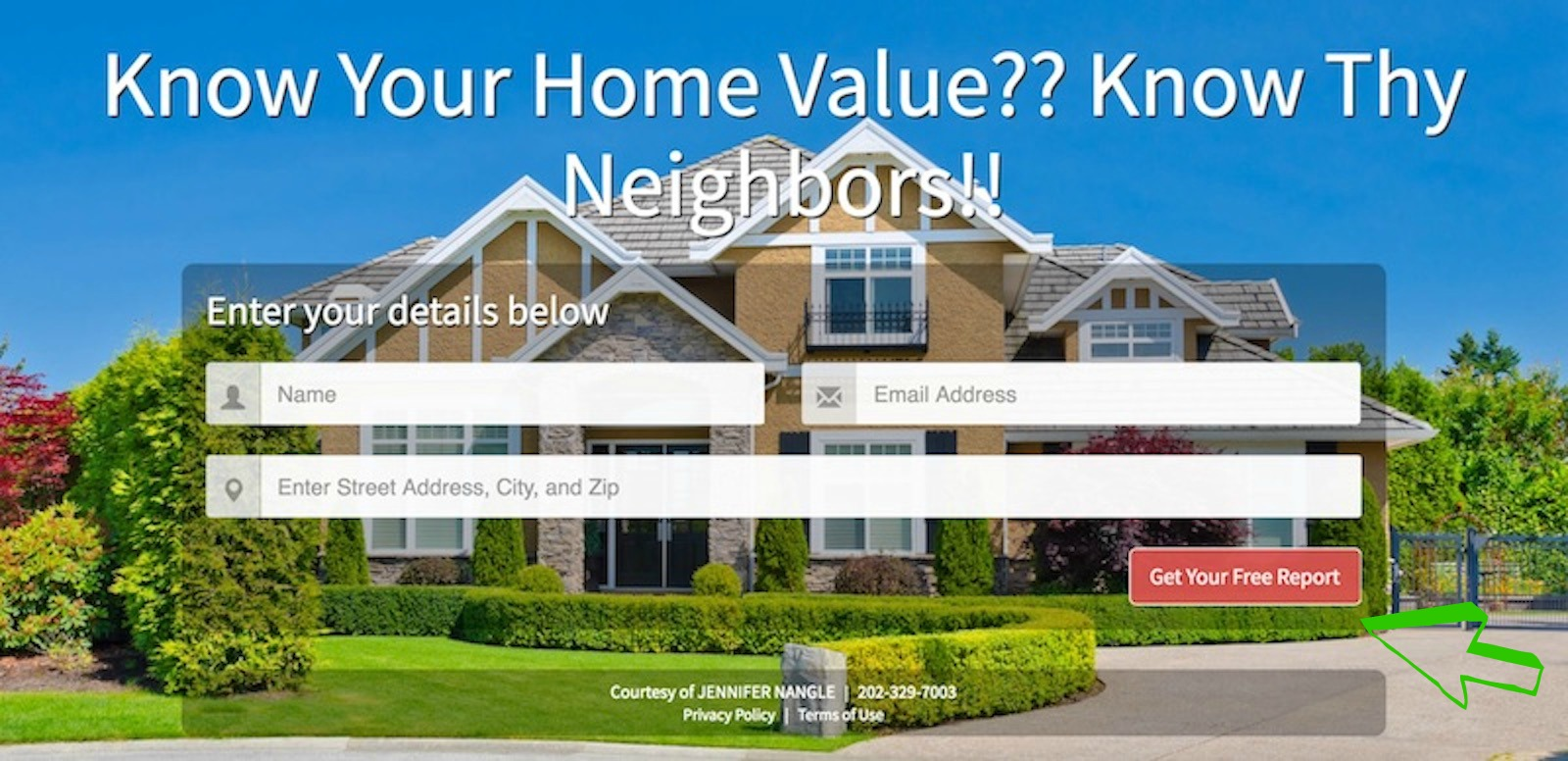 Click Here to Get Your Home Value