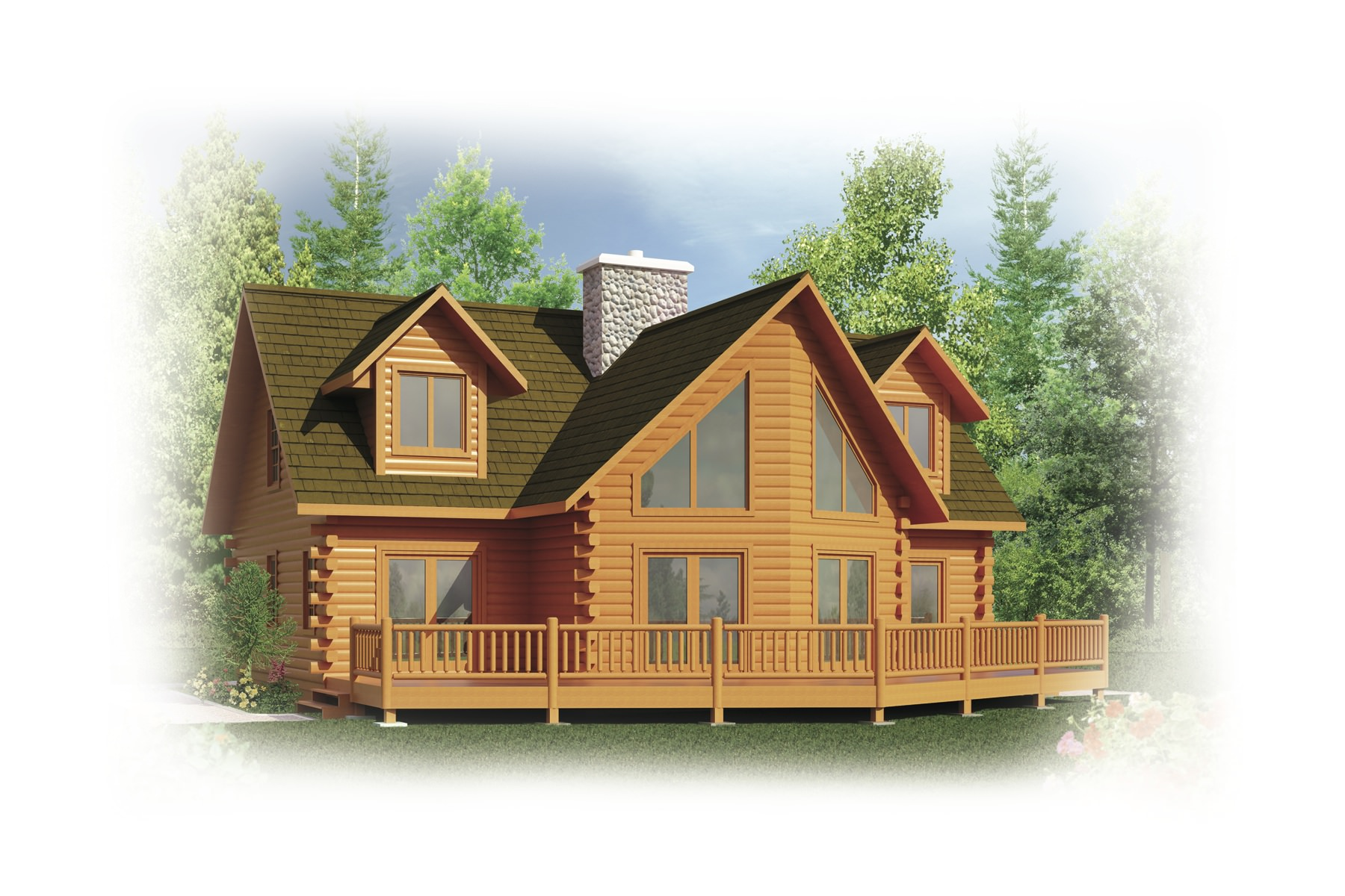 Log home building packages in north conway nh for House building packages