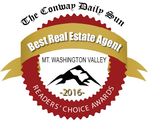 North Conway Nh real estate award for Bill Barbin