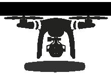 White Mountain Real estate drone