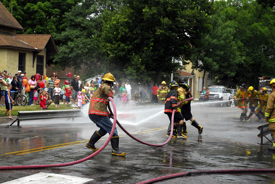Chaska Fire Dept Water Fights