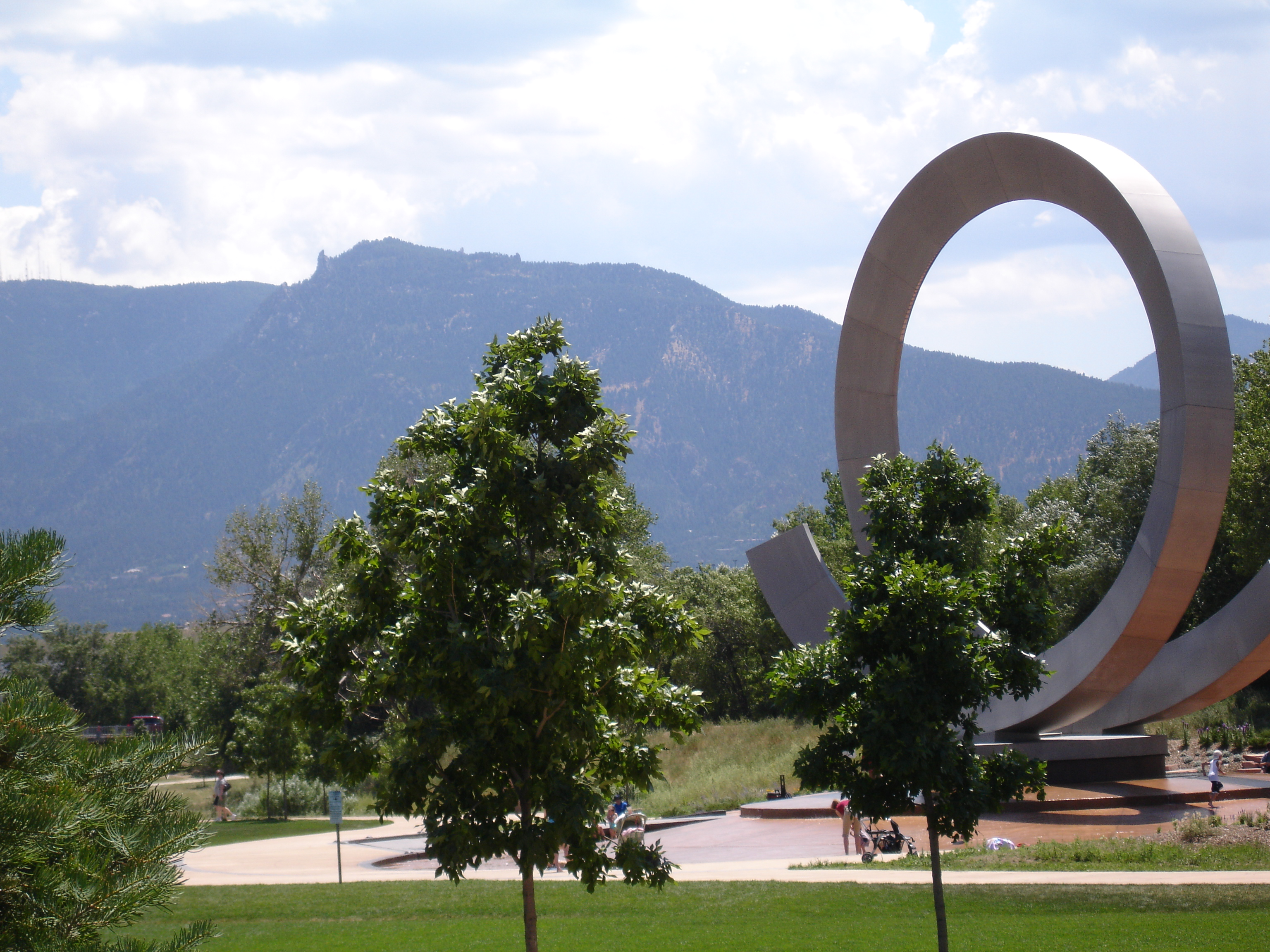 America the Beautiful Park in Colorado Springs, CO