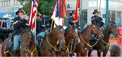 Fort Carson Mounted Color Guard - Courtesy of Your Fort Carson Real Estate Specialist Elizabeth Alexander