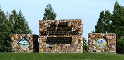 Fort Carson Entrance - Courtesy of Elizabeth Alexander your Fort Carson Real Estate Specialist