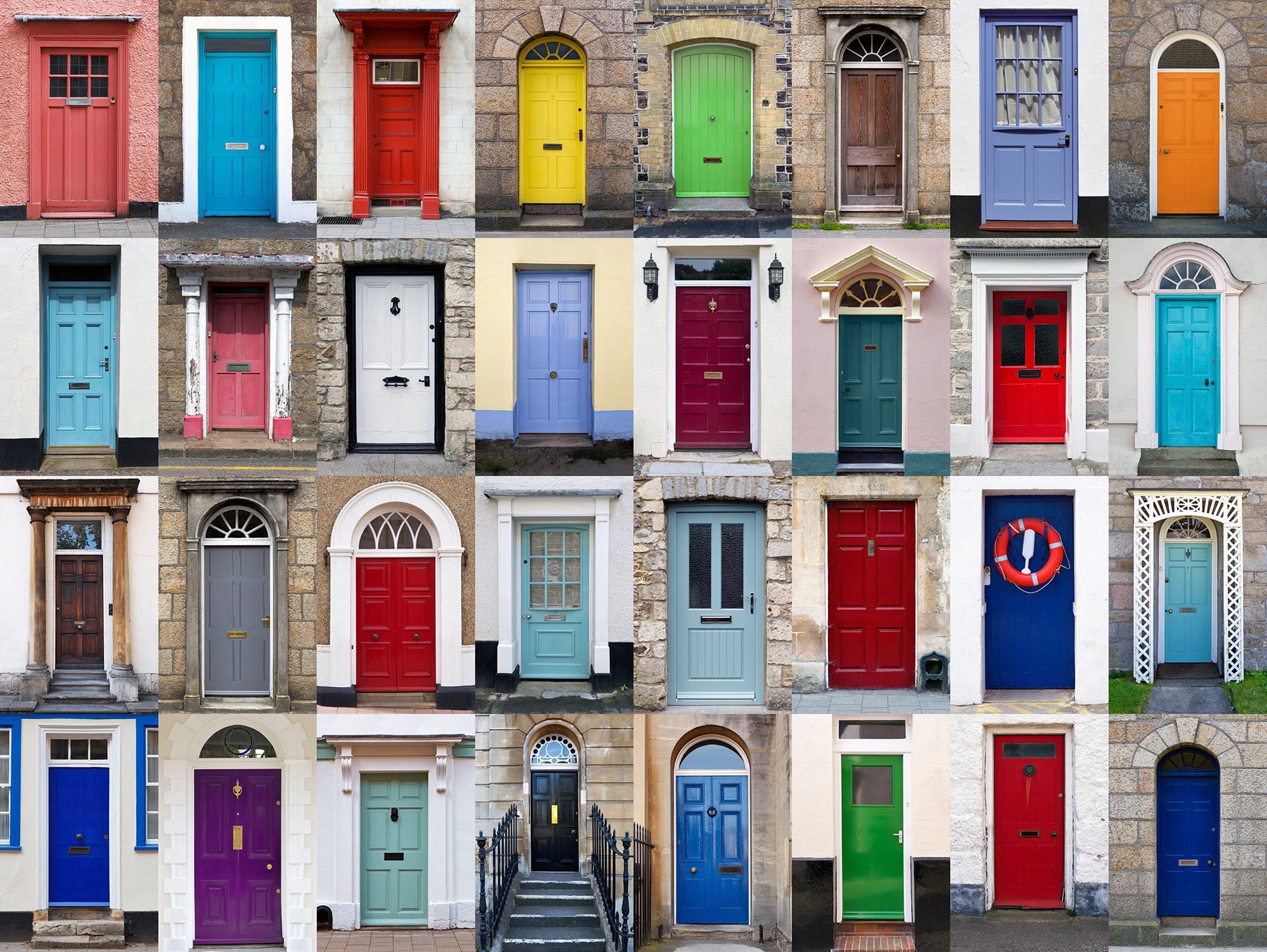 The age old saying u201ca little paint can go a long wayu201d is definitely true! Painting your front door brings a dramatic change to your entryway and helps & ... : doors painting - Pezcame.Com