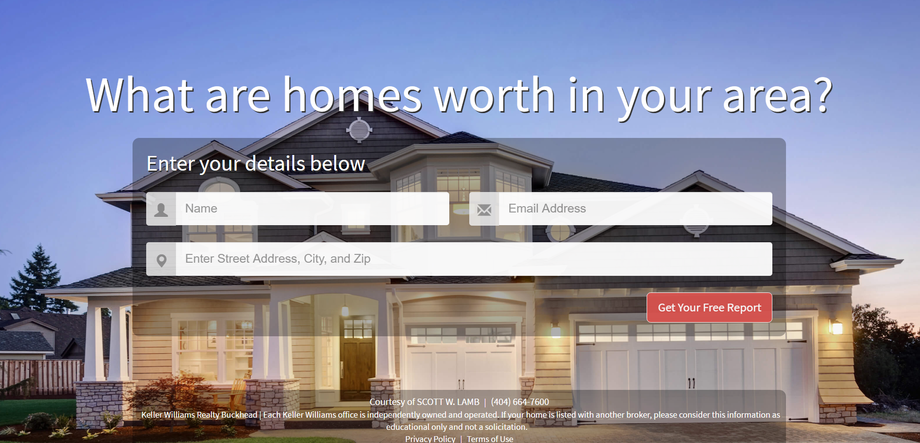 What are homes worth in your area?