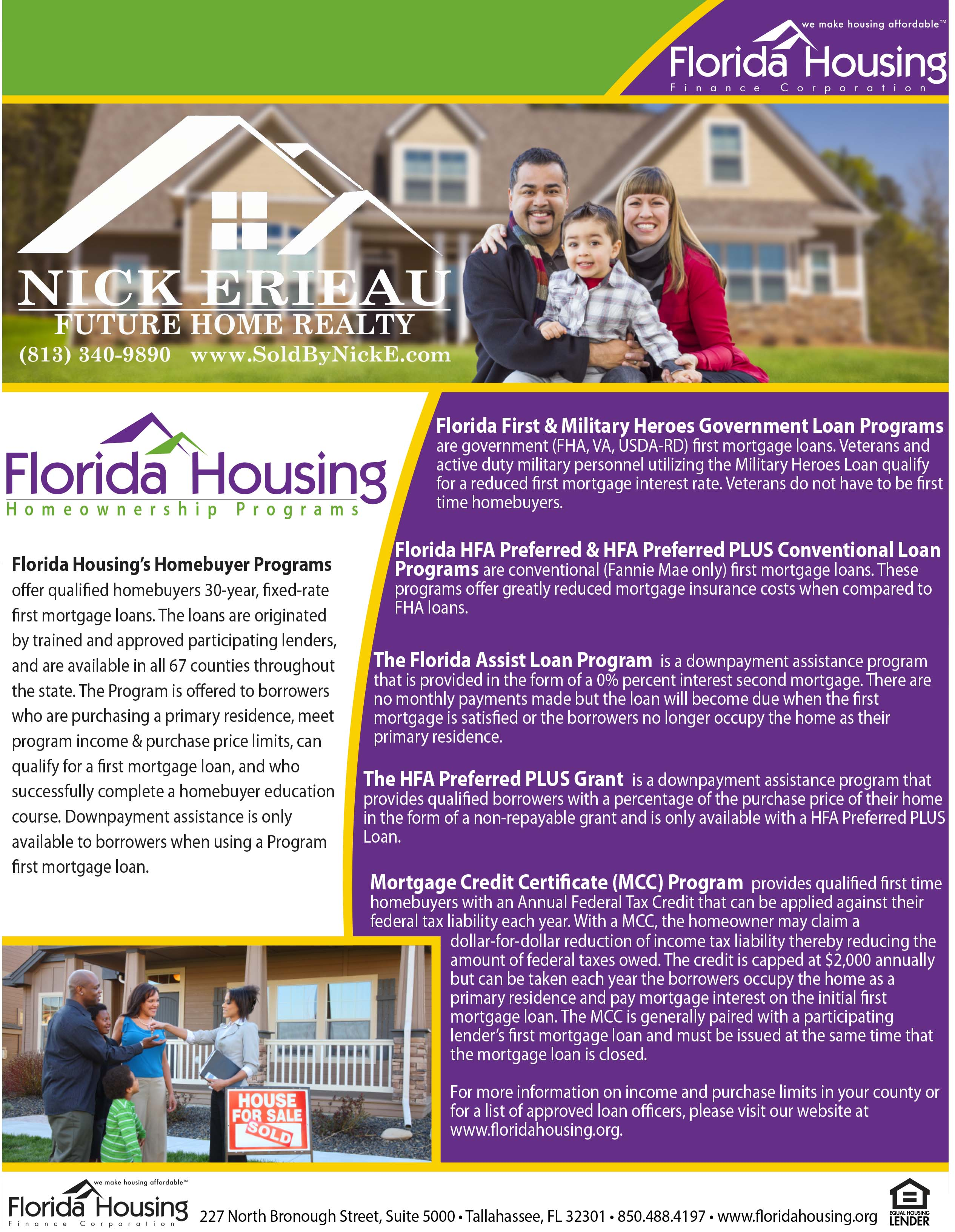 Nick Erieau Realtor First Time Buyer Program