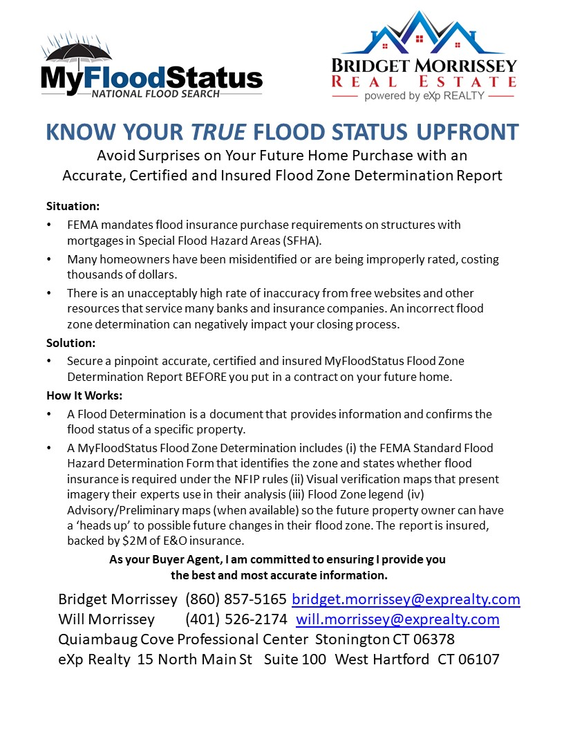 Flood Zone Listing Agent Bridget Morrissey