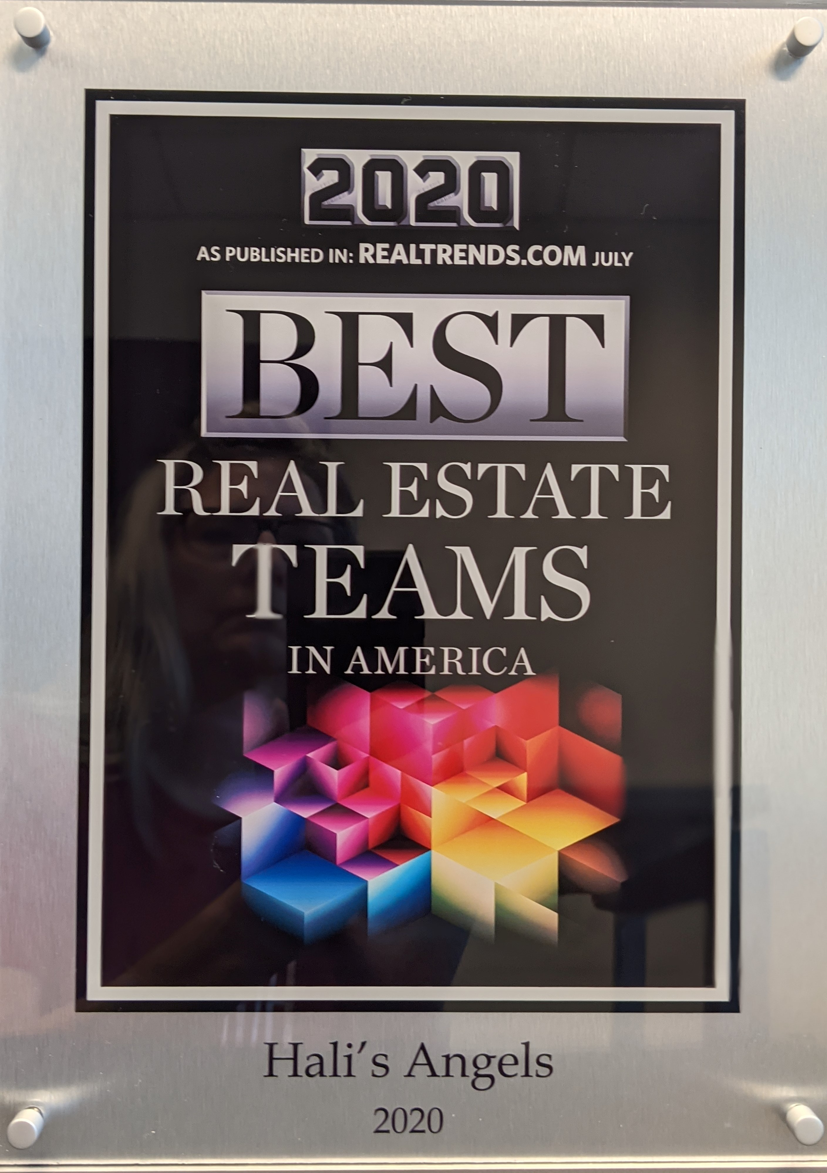 Hali's Angels Top Real Estate Teams 2020