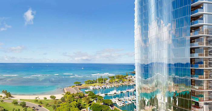 luxury Hawaii condos - Waiea Tower