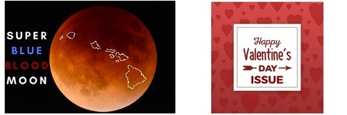 Super Blue Blood Moon Valentine's Hawaii Damon Real Estate Newsletter