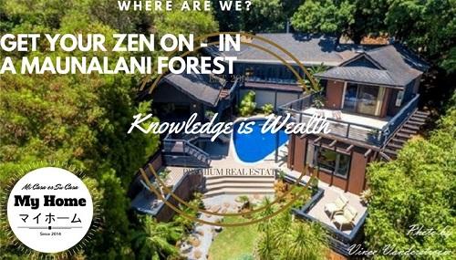 Maunalani Heights Zen Forest Retreat Property