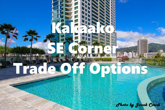 Kakaako SE Corner units on the Market