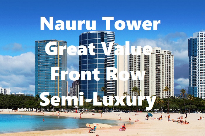 Nauru Tower units on the market