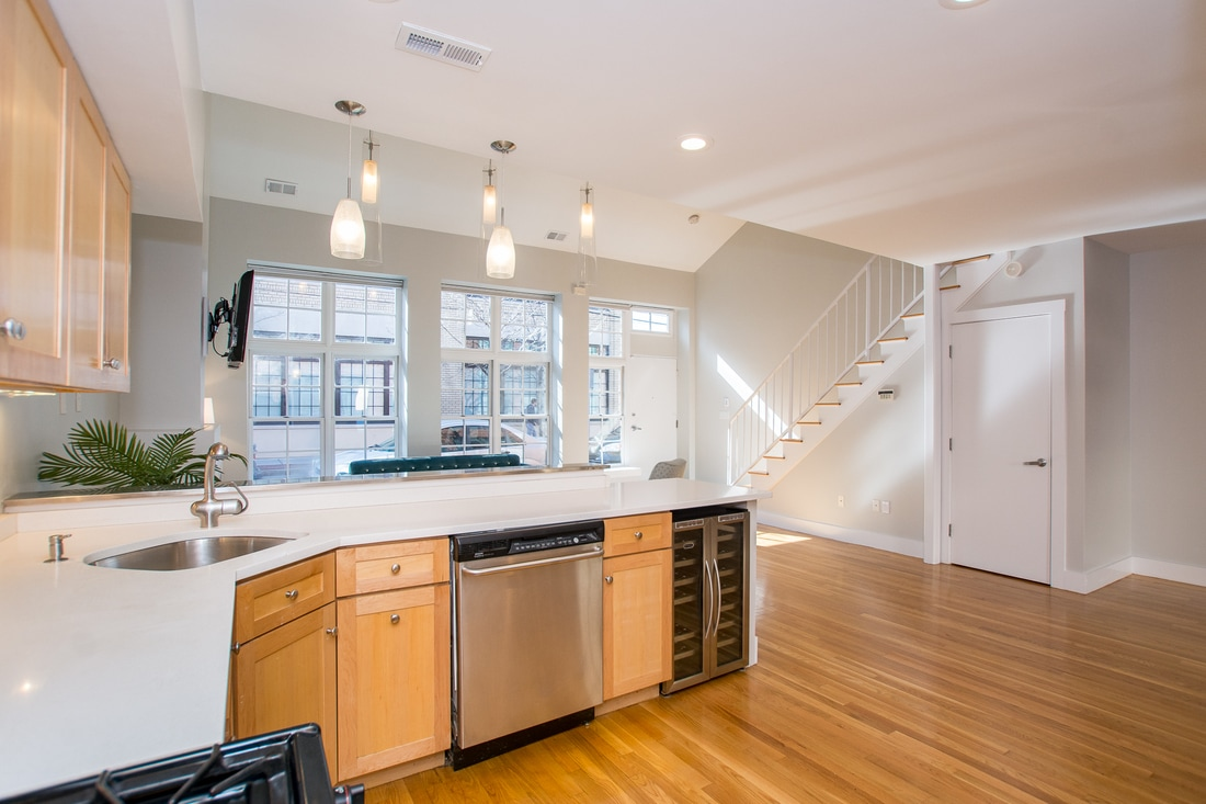 155 Brookline St in Cambridge Kitchen Area