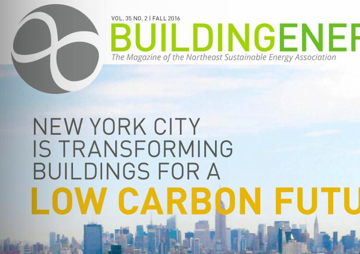 Building Energy Magazine and Conference, NESEA Northeast Sustainable Energy Association
