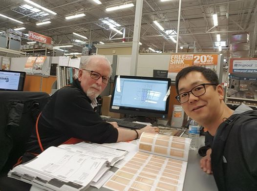Kitchen Cabinet Consultation at Home Depot with Skip Sullivan
