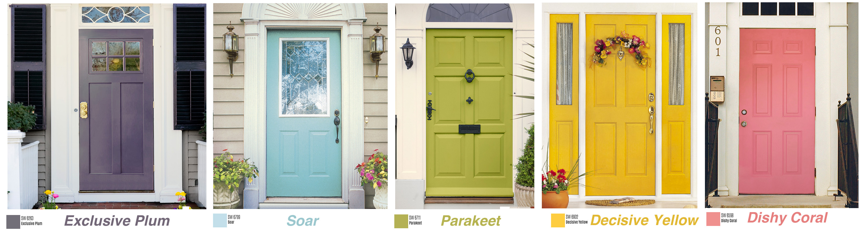 Dallas Real Estate How To Improve Curb Appeal Colorful Door