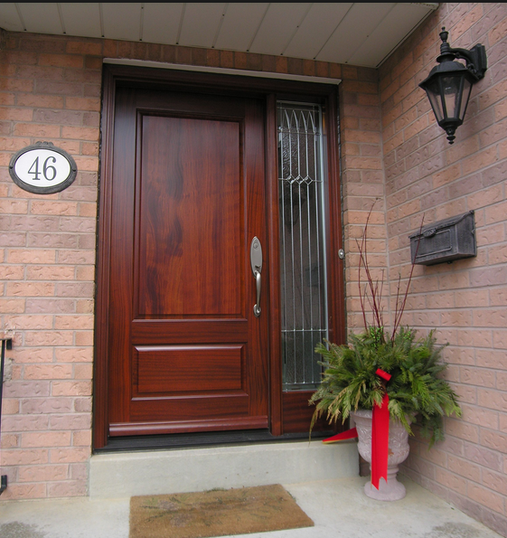 A front door can provide a positive ROI