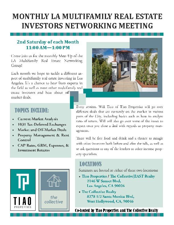 Events - Tiao Properties