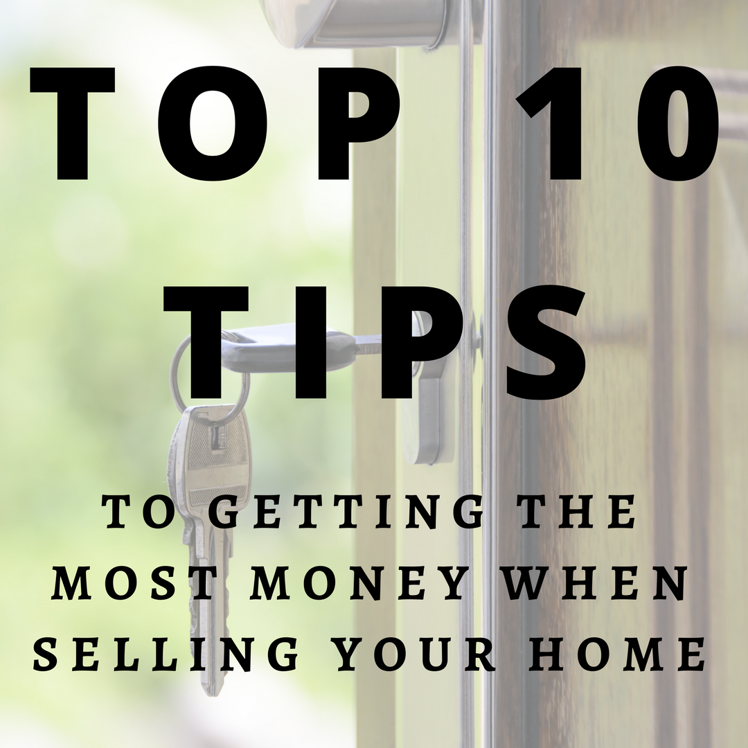 Top 10 Tips to Getting the Most Money When Selling Your Home - Box Selling Your Home Tips on home business tips, home security tips, home design tips, home packing tips, home inspection tips,
