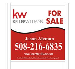 Jason Aleman Real Estate Agent for sale sign