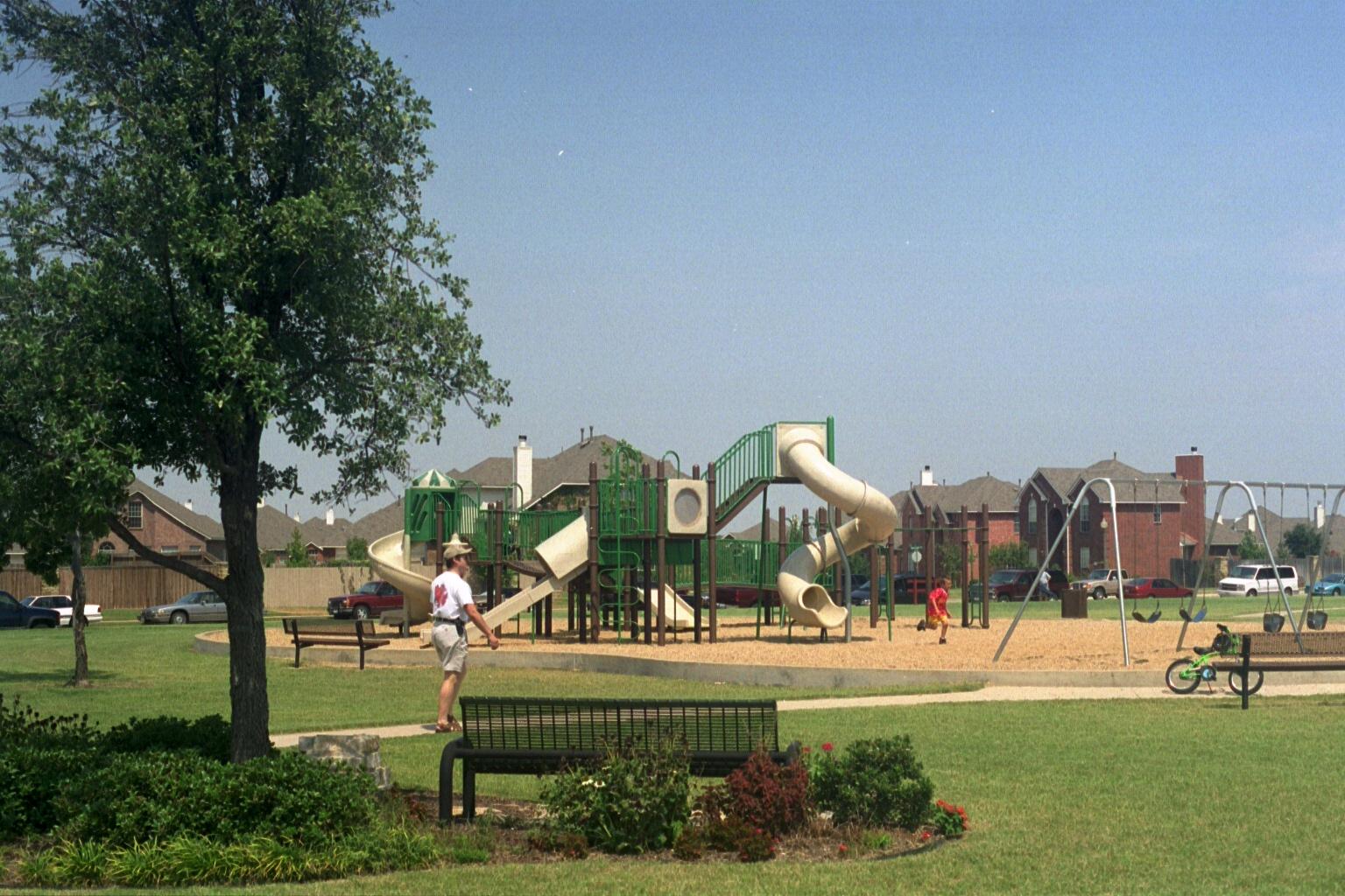 Watters Crossing Neighborhood in Allen Texas