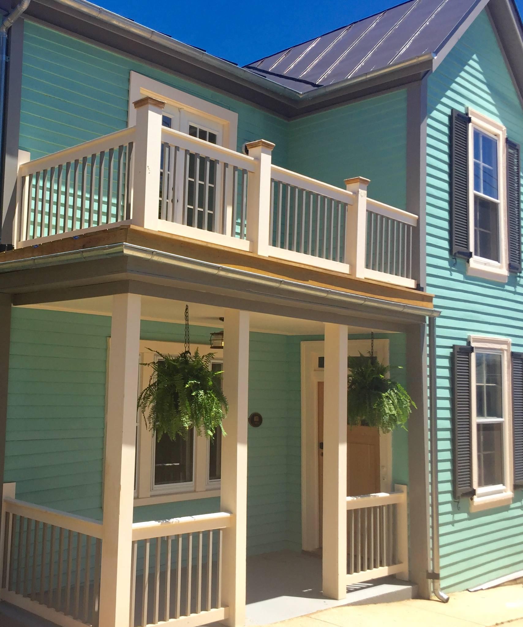 The Landmark restored exterior