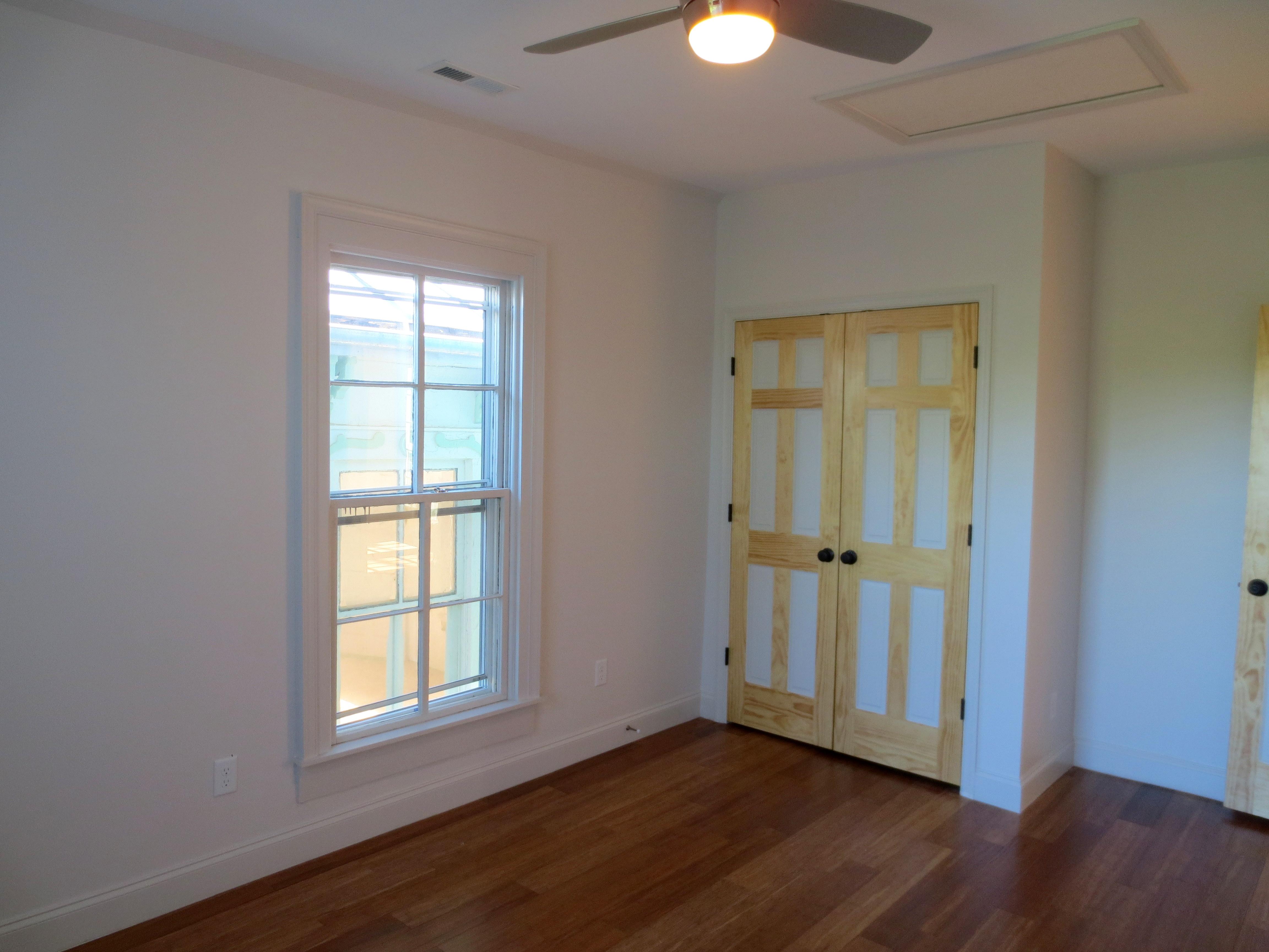 The Landmark restored back bedroom