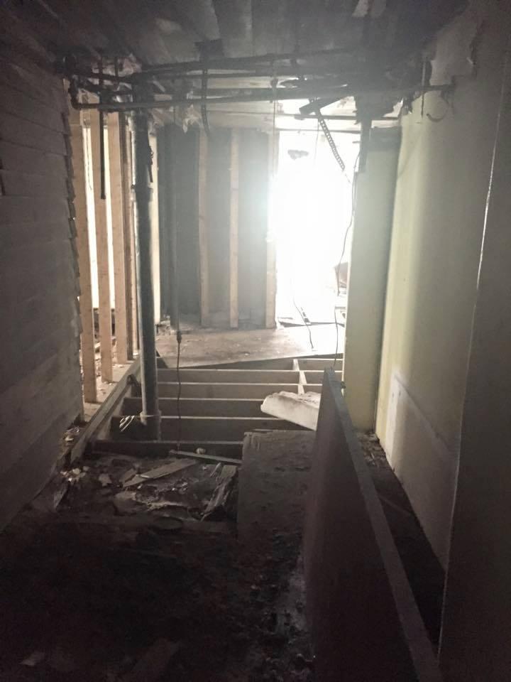The Landmark pre-restoration: main floor