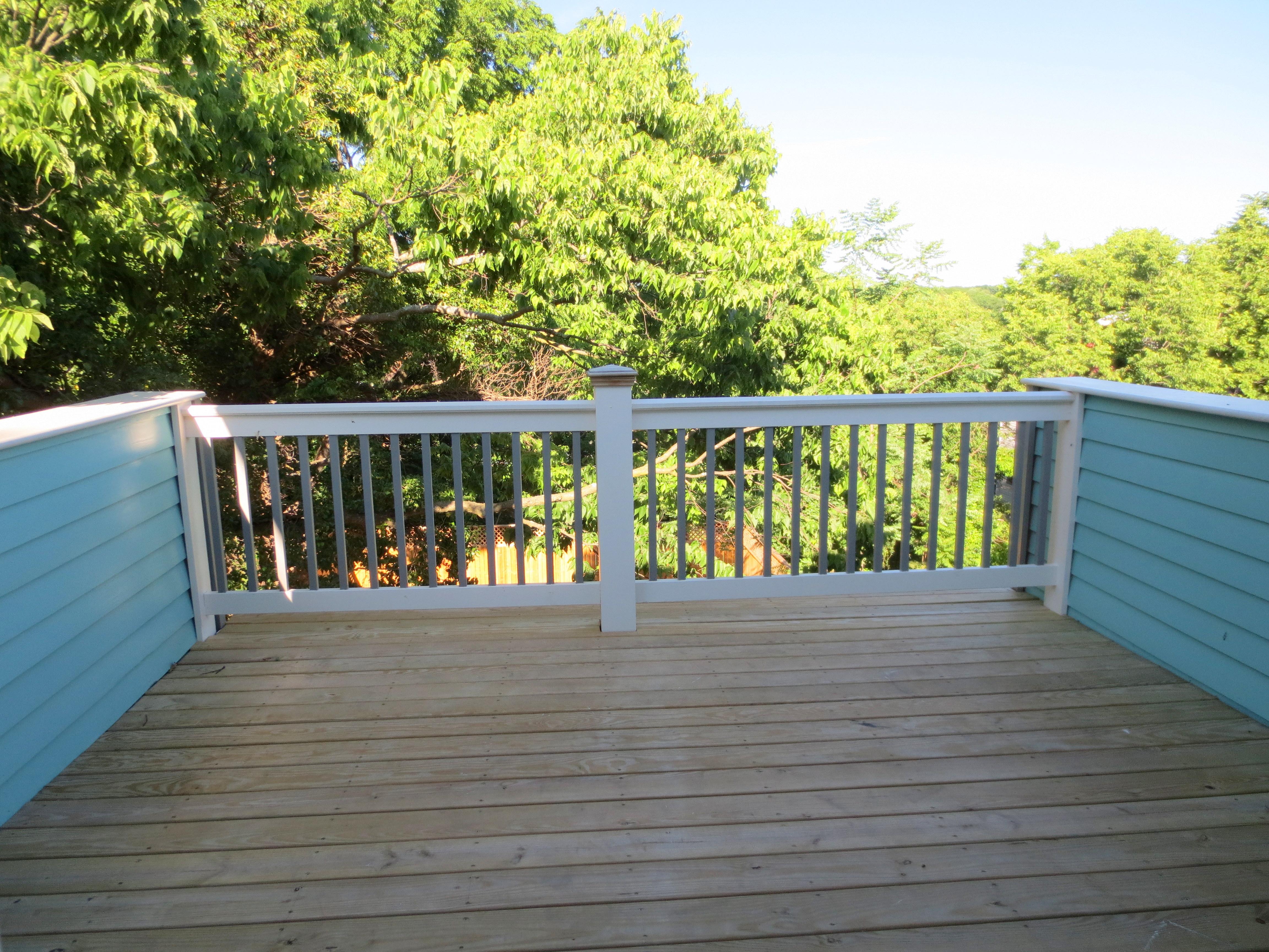The Landmark restored rear balcony