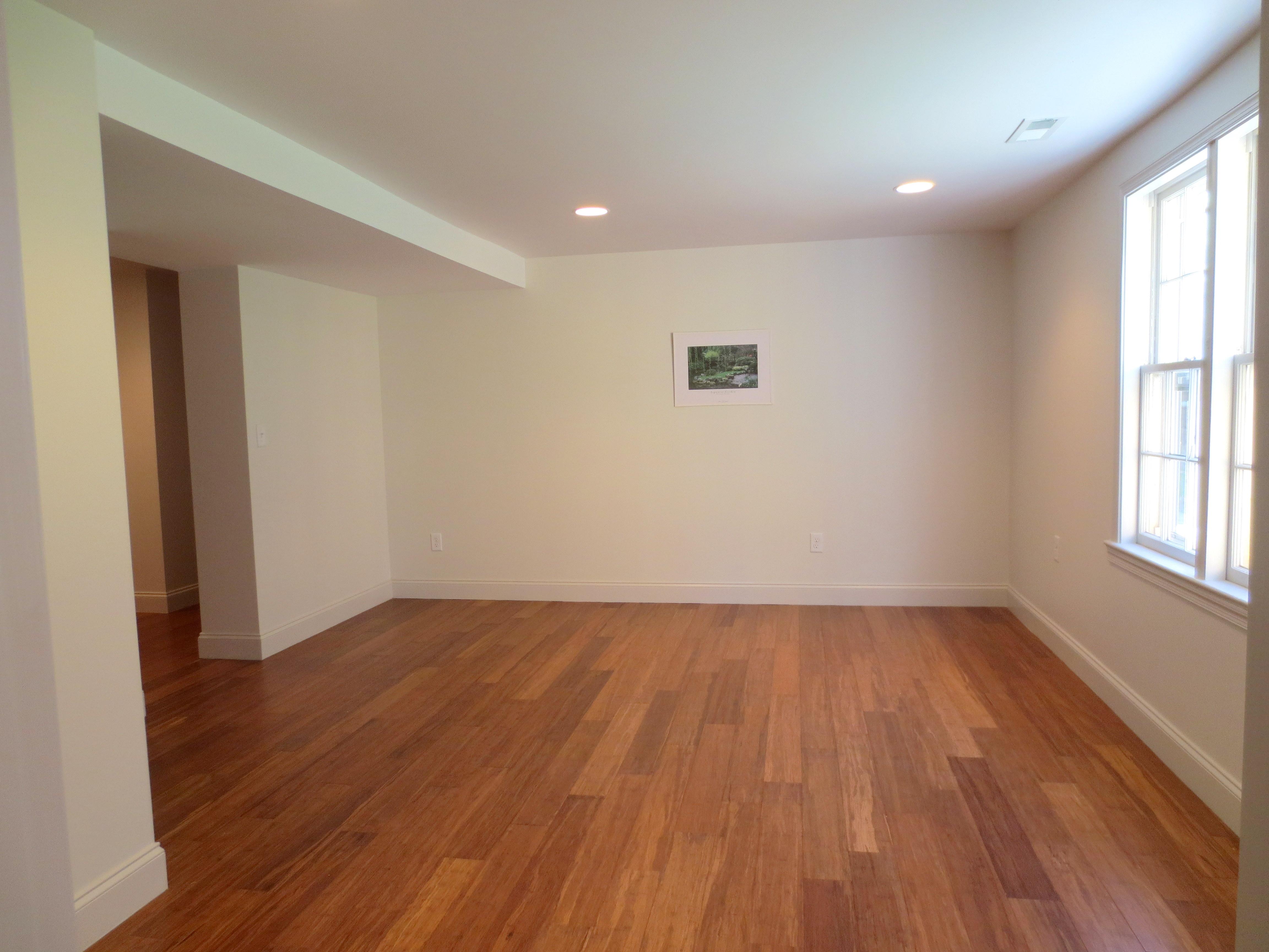 The Landmark restored apartment living / dining area