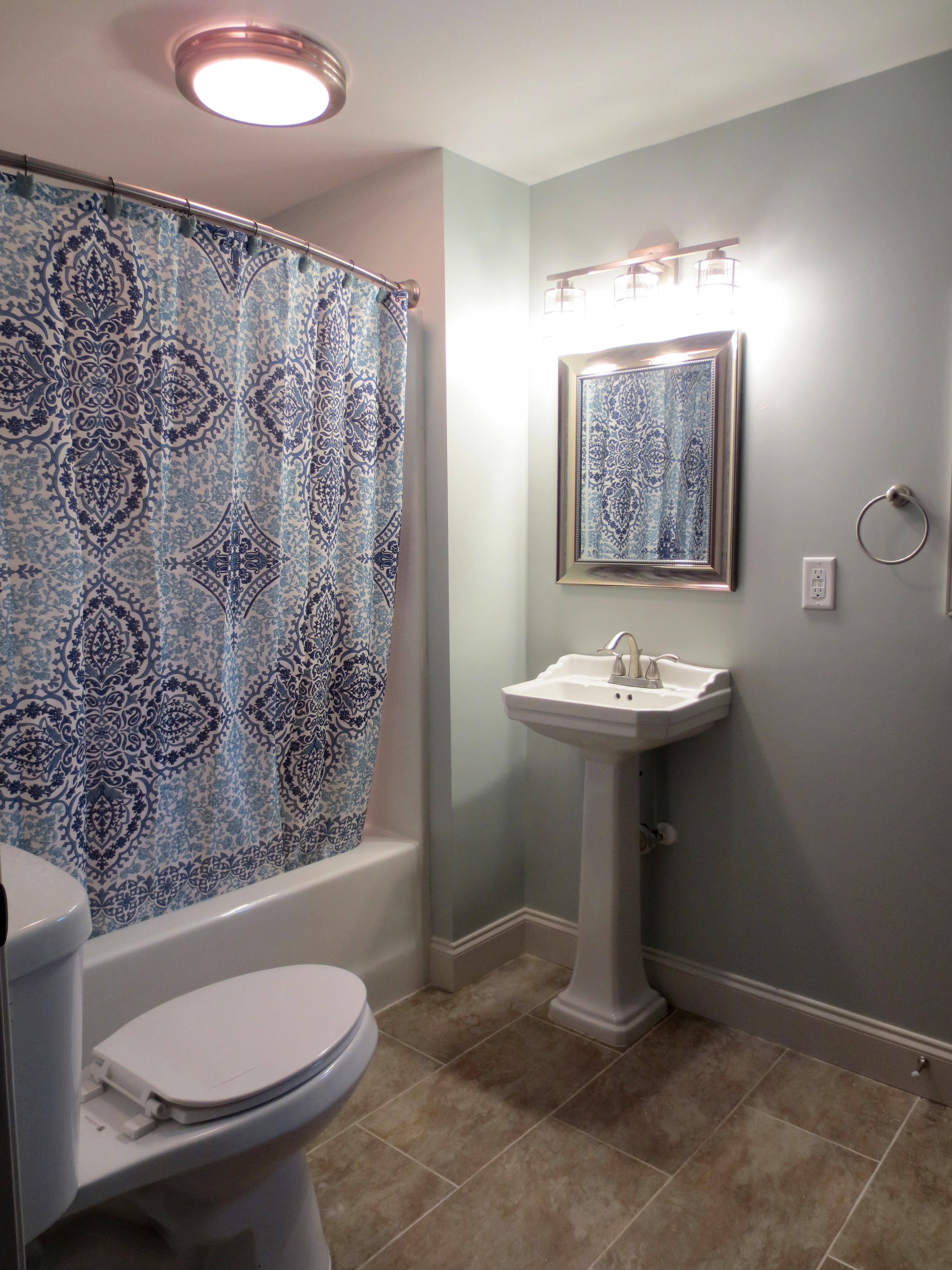 The Landmark restored apartment full bath