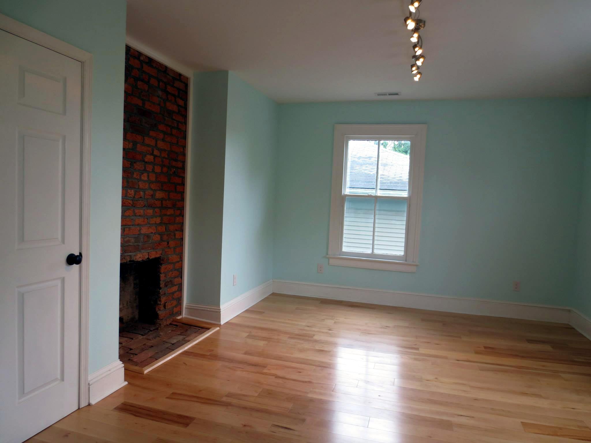 619 frederick st after renovation - bedroom