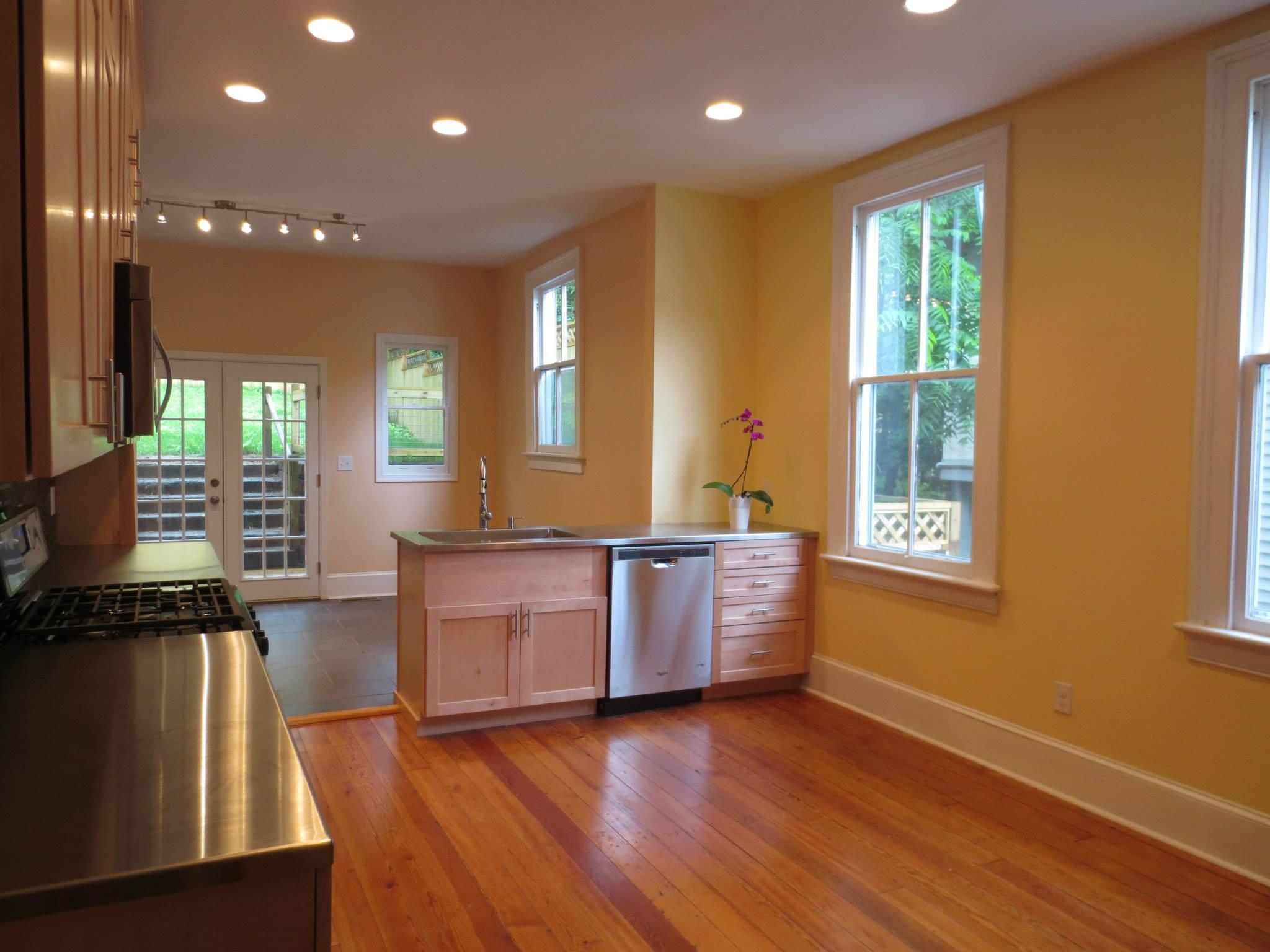 619 frederick st after renovation - kitchen