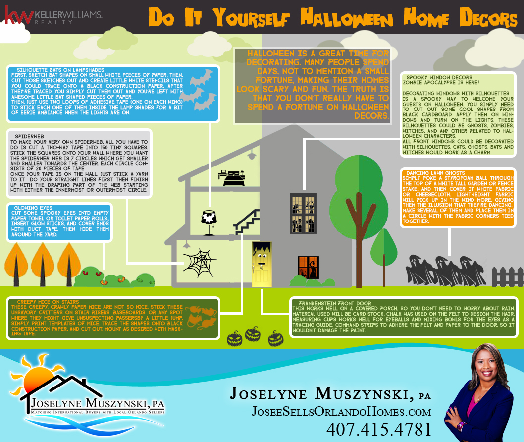 Do it yourself halloween home decors solutioingenieria Image collections