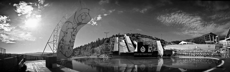 Utah Olympic Park UOP in Park City Utah