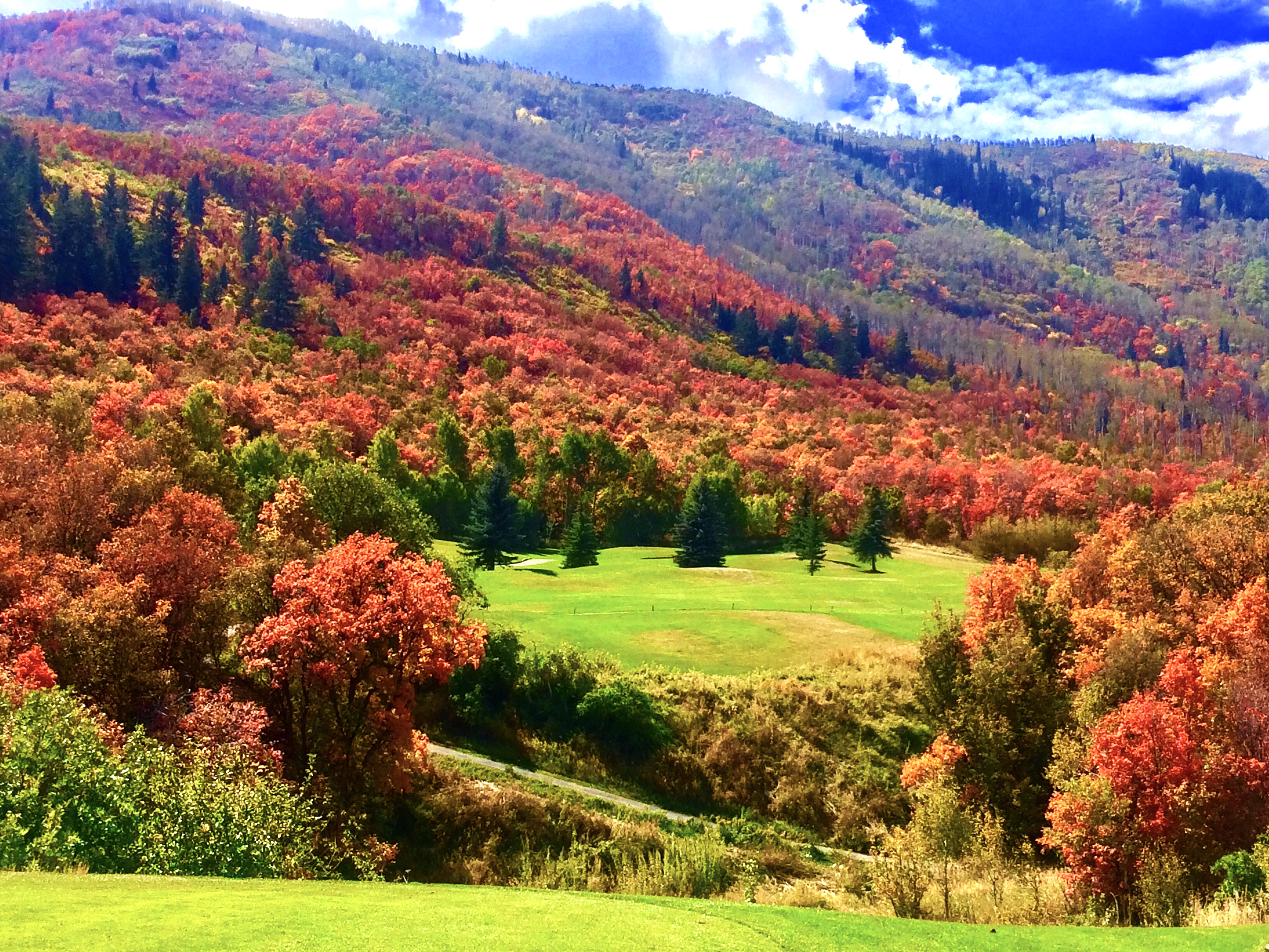 Wasatch State Park Mountain Course, Midway Utah