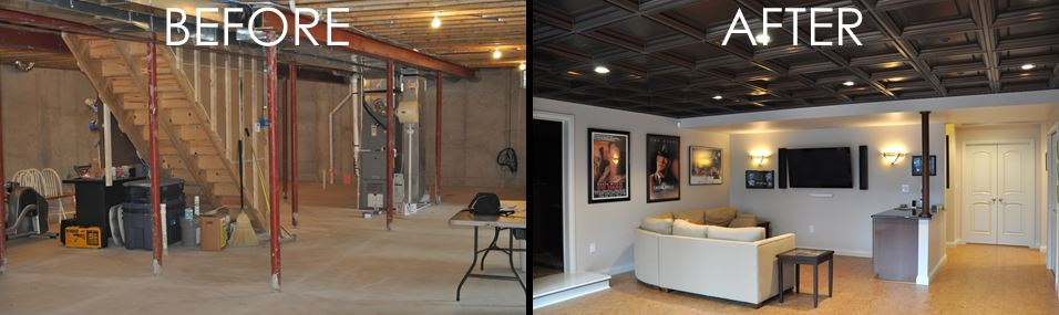 FINISHED BASEMENTA SMART INVESTMENT Inspiration Average Cost Basement Remodel Set Property