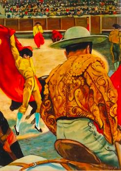 Sotheby's Auction House: Picabia's Legendary 'La Corrida'