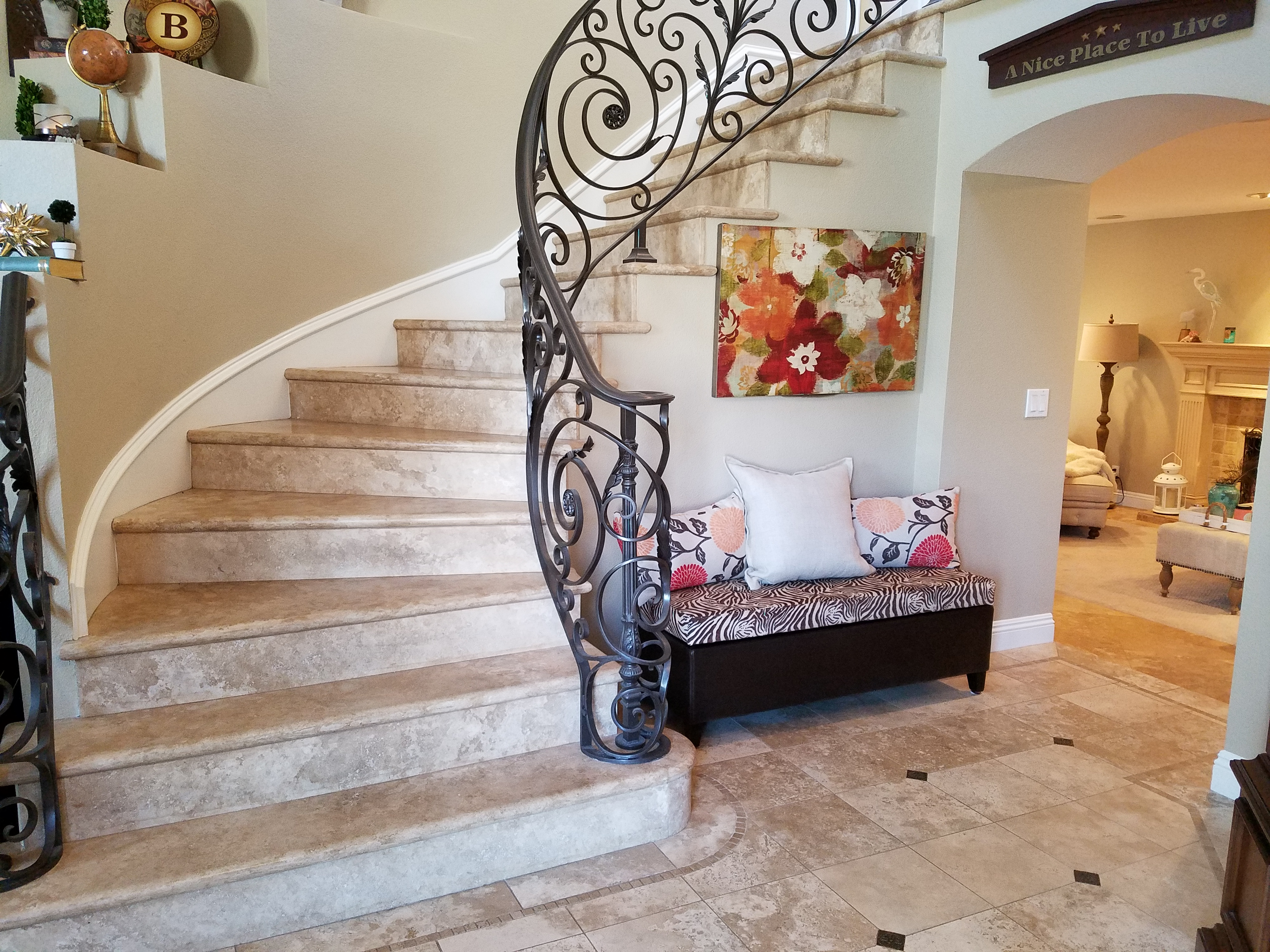 Elegant Entry | Bruce Clark Orange County Real Estate Agent