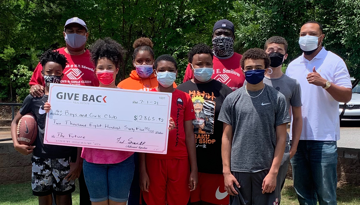Fred Sewell GIVES BACK to the Boys and Girls Club of Athens