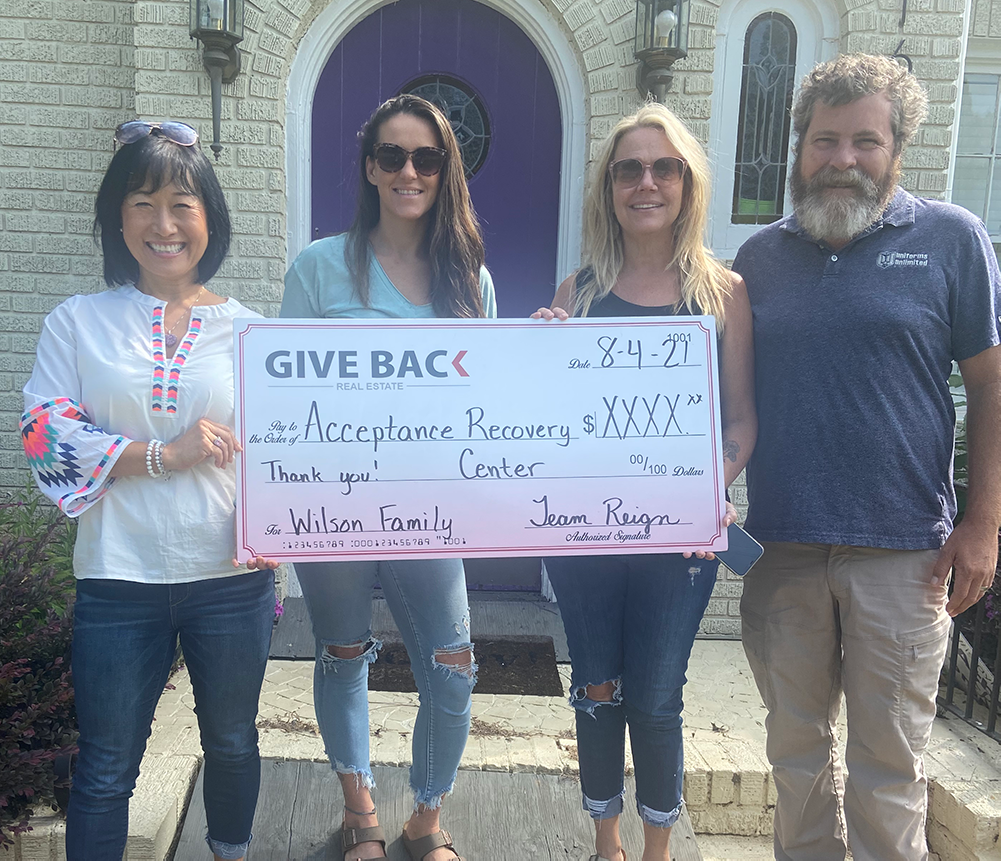 Cheri Cherry GIVES BACK to Acceptance Recovery Center